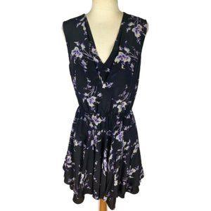 Rebecca Taylor Floral Silk Layered Dress 4